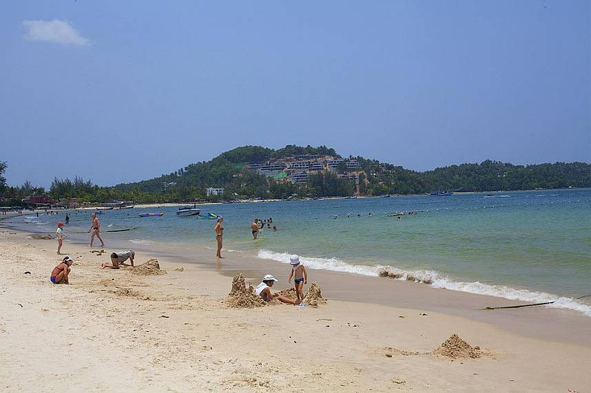 Surin Beach Phuket is a fantastic place for the whole family during a beach holiday