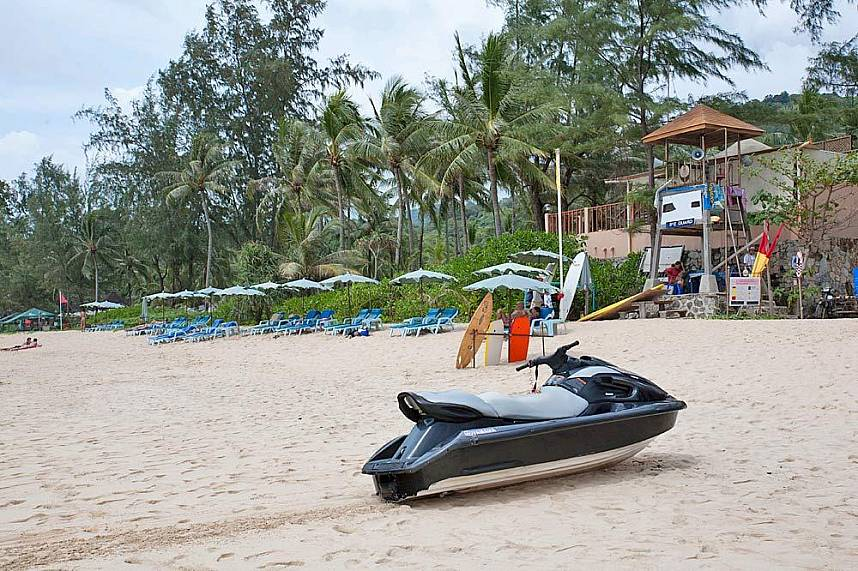 Kata Noi Beach Phuket is less known and very quiet