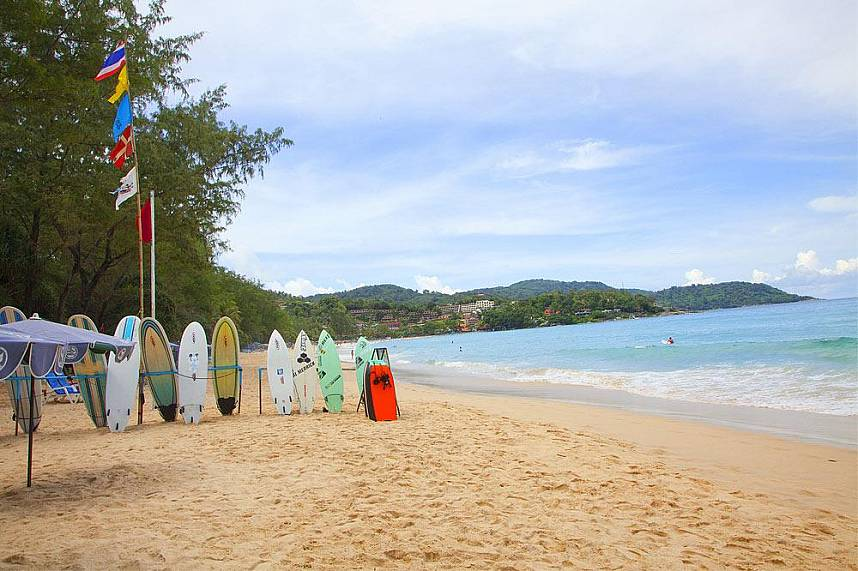 Kata Beach Phuket has some very quiet spots to offer