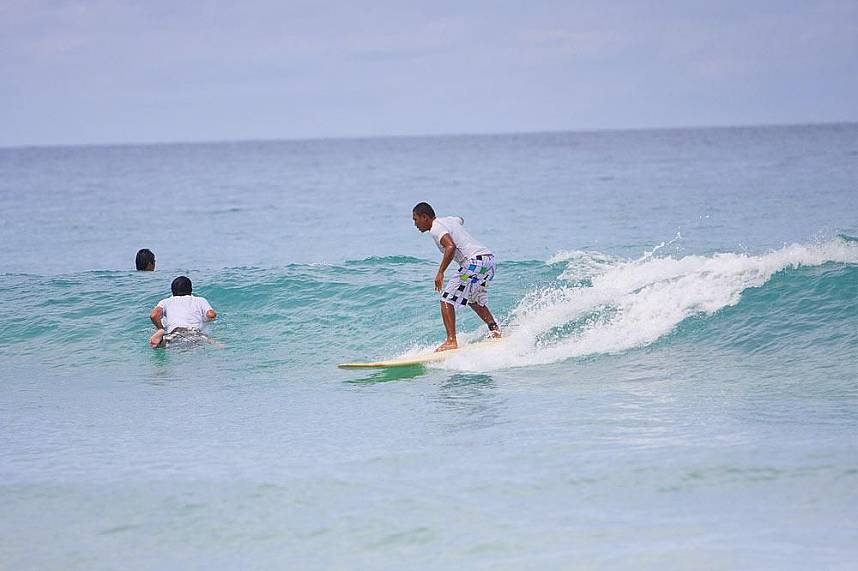 Get some surfing experience at Kata Beach Phuket