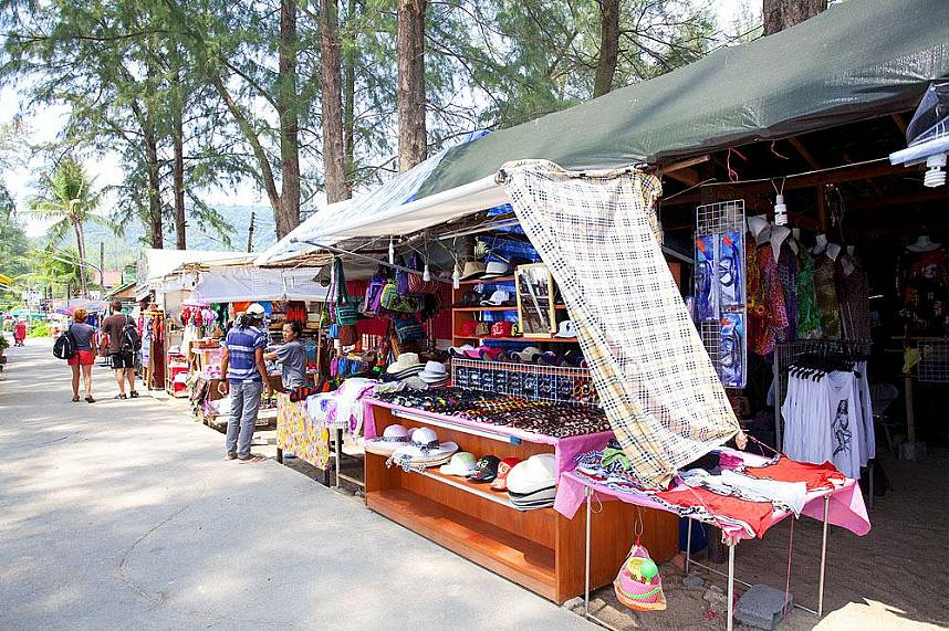 Get yourself a souvenir at one of the shops along Kamala Beach Phuket