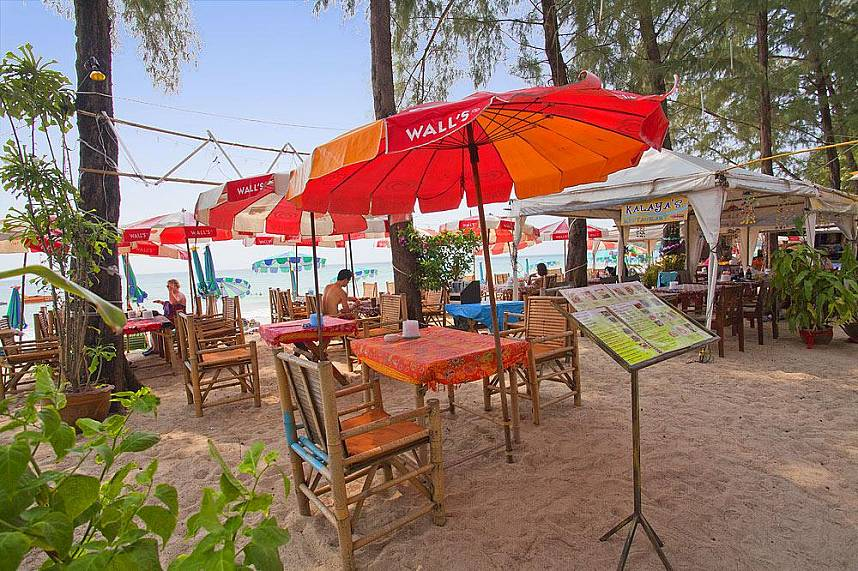Kamala Beach Phuket has plenty of small restaurants