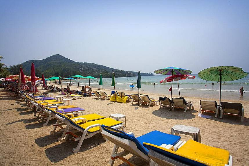 Spend with your family a great day at Kamala Beach Phuket