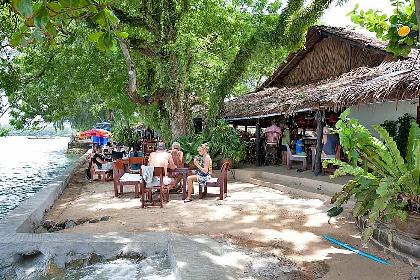 Nikita's Restaurant in Rawai is well known for its famous sea food