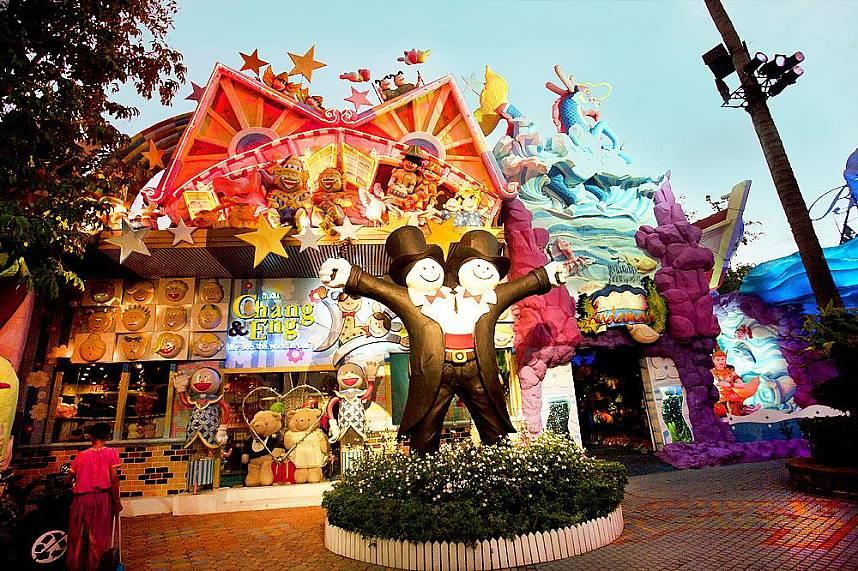 Phuket FantaSea is the most visited Phuket attraction