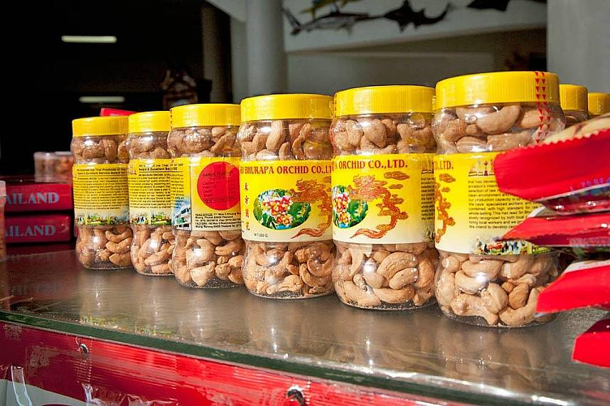 Get yourself a delicious pack of cashew at Phuket Cashew Nut Factory