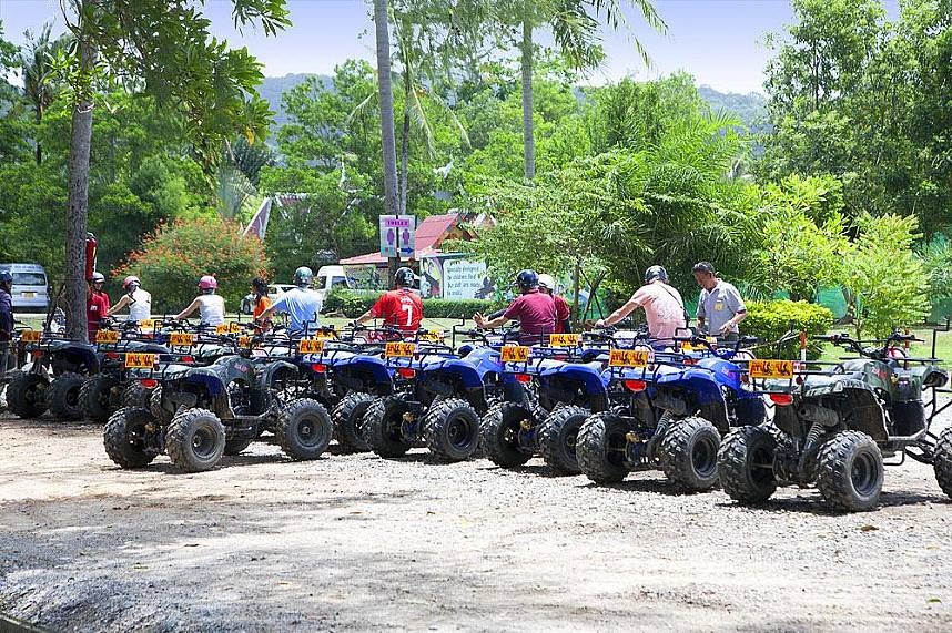 Phuket ATV is a must for every adventure tourist
