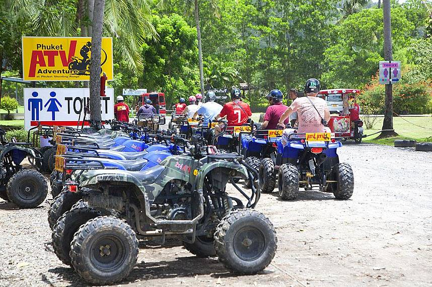 enjoy some great aventure at Phuket ATV during your Phuket holiday