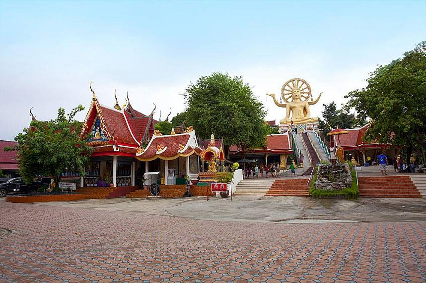 Big Buddha Temple Koh Samui - a must see attraction