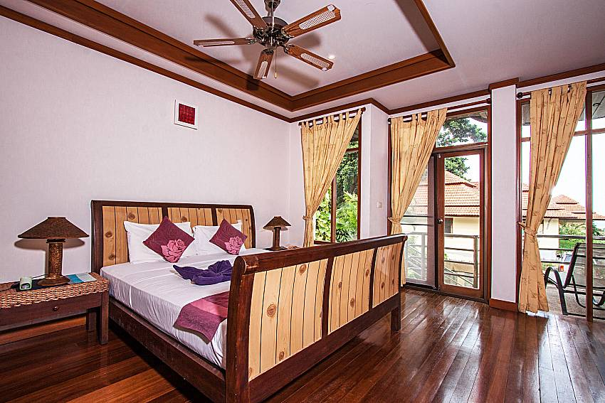 Bedroom see view of Ban Talay Khaw O3