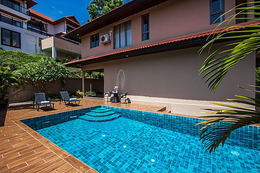 A large swimming pool the home side of Ban Talay Khaw O12
