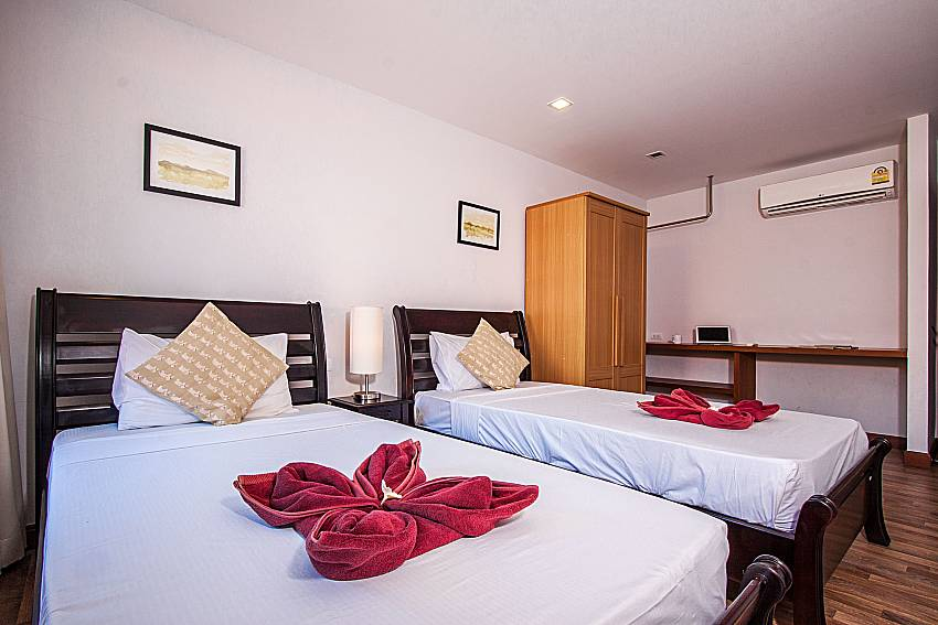 Double bedroom of Ban Talay Khaw O12 (Third)