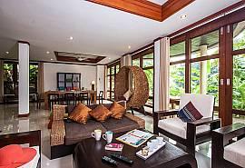 บ้านทะเลขาว T26 - สมุยพูลวิลล่า 4 ห้องนอนให้เช่ารายวันในอ่าวท้องสน