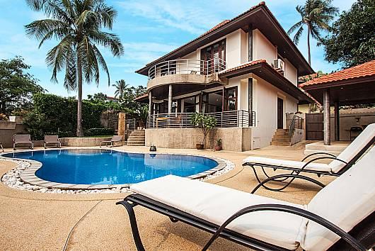 Аренда виллы на Самуи: Ban Talay Khaw T45 - 2 villas, each with 4 bedrooms, 4 Спальни.  бат в день