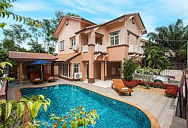 Jomtien Summertime Villa C | 3 Betten Pool Ferienhaus in Pattaya