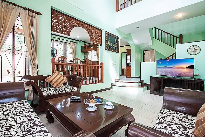 Living room of Jomtien Summertime Villa C