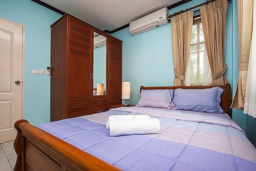 Bedroom with wardrobe of Jomtien Summertime Villa C (Third)