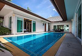 Kancha Villa | 3 Betten Luxus Pool Villa in Banglamung Pattaya