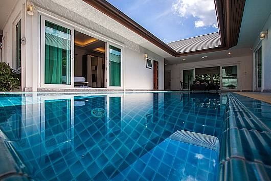 Аренда виллы в Паттайе: Kancha Villa – Luxurious 3 Bedroom Pool Villa, Banglamung, 3 Спальни. 7875 бат в день