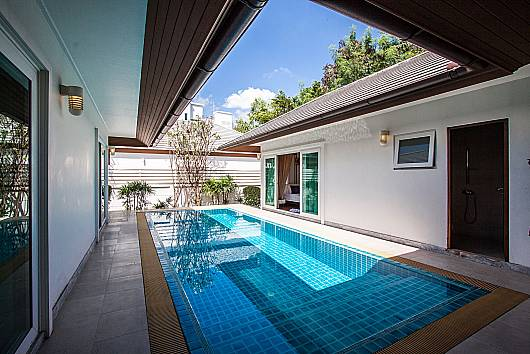 Rent Pattaya Villa: Kancha Villa – Luxurious 3 Bedroom Pool Villa, Banglamung, 3 Bedrooms. 7875 baht per night