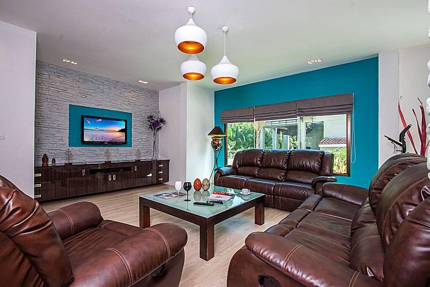 Living room with TV of Villa Jairak