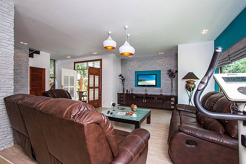 Living room with Fitness of Villa Jairak