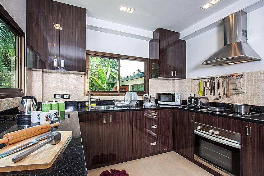 Kitchen room of Villa Jairak