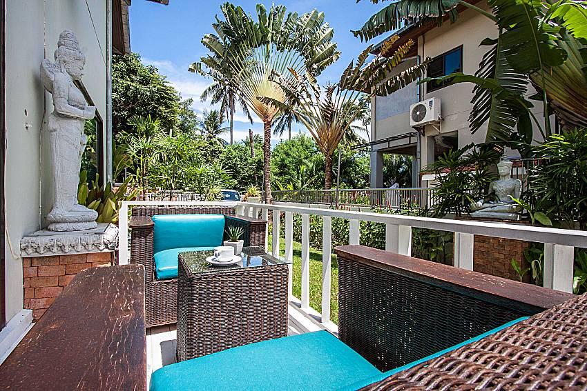 Coffee table outdoor of Villa Jairak