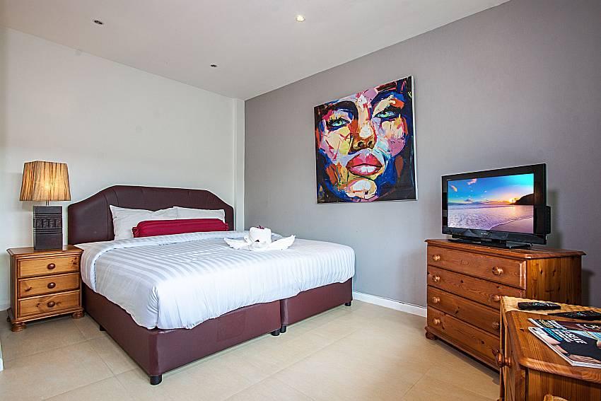 Bedroom with TV of Villa Jairak (Second)