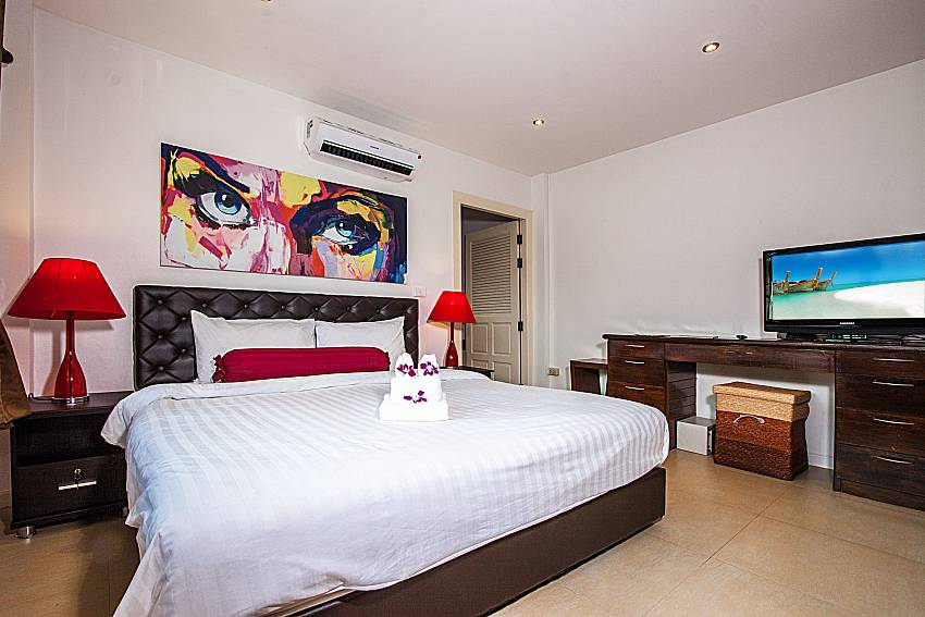 Bedrooms are decorated with pictures of Villa Jairak (Third)