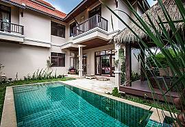 Chaweng Sunrise Villa 2 | Grosse 2 Betten Pool Villa in Samui