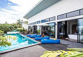 Paritta Sky Villa A | 2 Villen mit je 3 Betten und Pool in Koh Samui