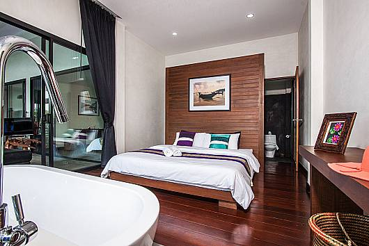 Аренда виллы на Самуи: Paritta Sky Villa A - 2 villas with 3 beds each, 3 Спальни. 11890 бат в день