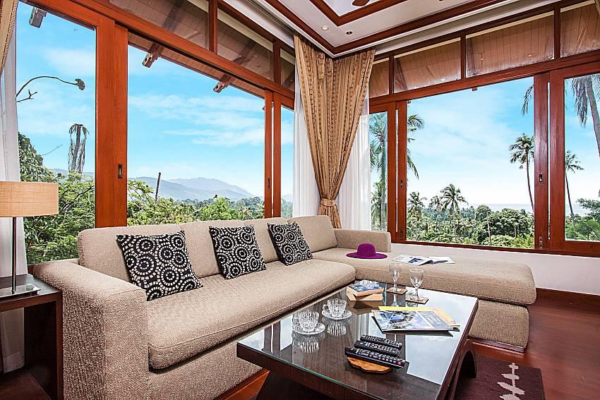 Sofa overlook view of Pailin Garden Palace
