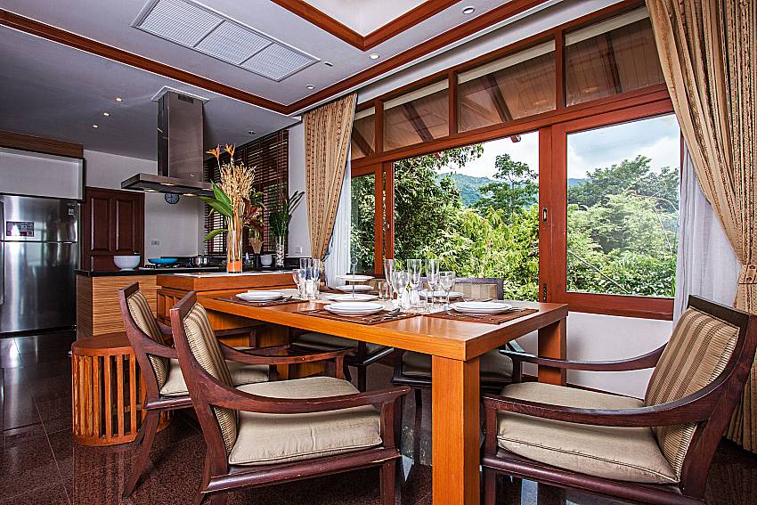 Dinning table view of Pailin Garden Palace