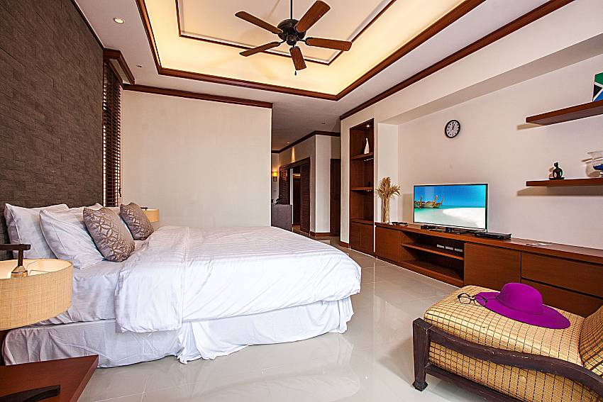Bedroom with TV of Pailin Garden Palace (Third)