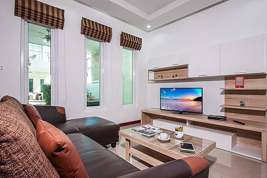 Sofa with TV of Baan kiet 3