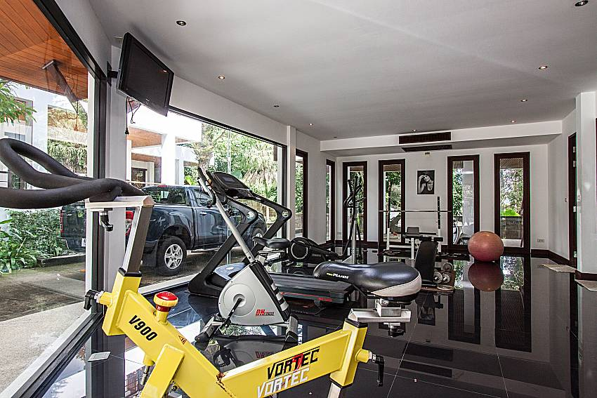 Fitness of Niranon villa 21