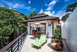 Herrliche kleine 1-Zimmer-Villa mit Dachterrasse zum Mieten