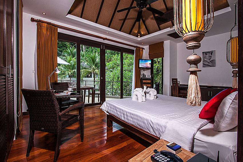 Bedrooms are beautifully decorated of Niranon villa 11