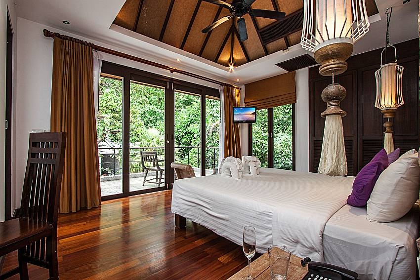 ฺBedroom see view of Niranon villa 12