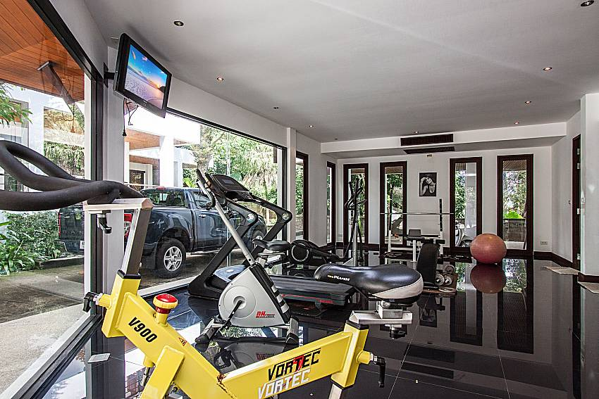 Fitness of Nirano villa 14
