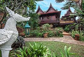 Ruean Jai A | 1 Bedroom Thai Style Villa Bophut Koh Samui