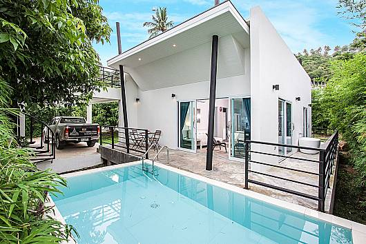 Chaweng Design Villa No.3 - 2 Beds 2 Bedrooms House  For Rent  in Koh Samui