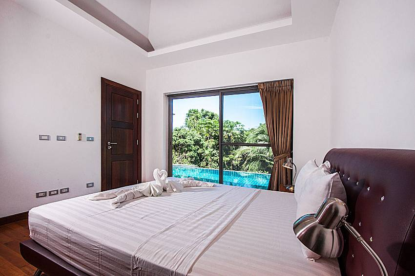 Bedroom see view of Villa Gaw Sawan