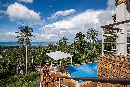 Villa Soht Morakat - 4 Beds 4 Bedrooms House  For Rent  in Koh Samui