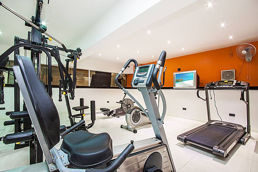 Exercise room of Pratumnak Argyle Villa