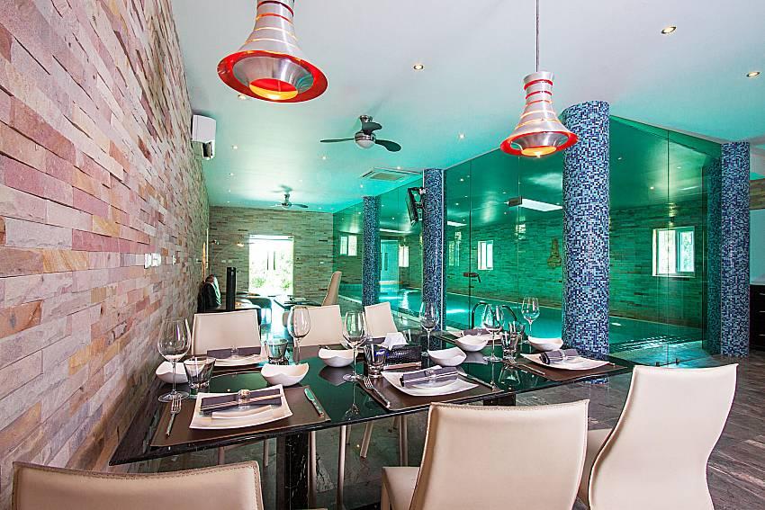 Dinning area Villa Virote in Phuket