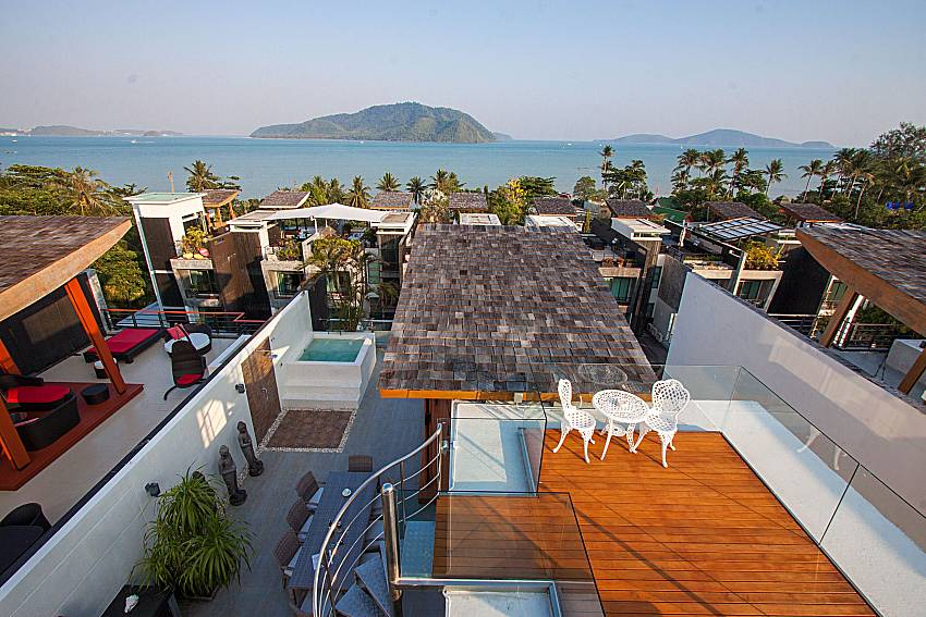Property top view Un-Chan Villa in Phuket
