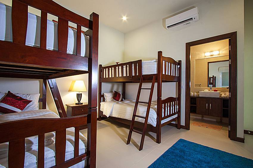 Bedroom Si Mok Villa in Phuket